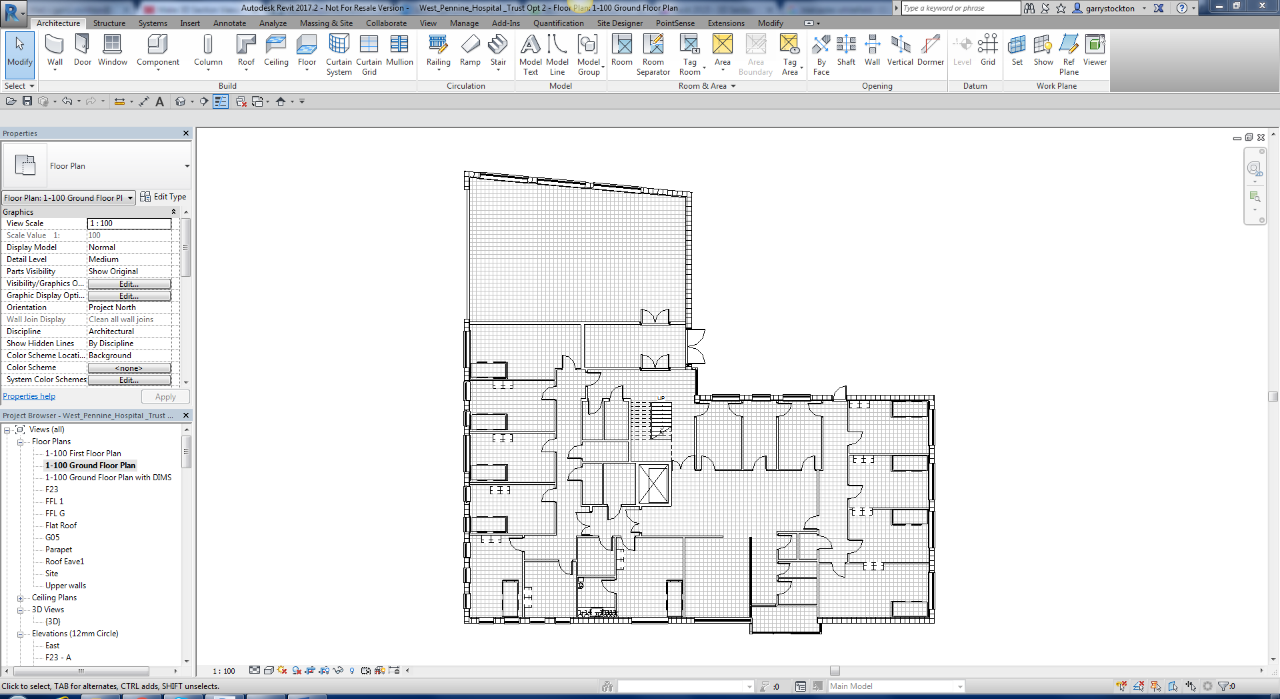 Creating Area Specific 3D Section Views in Revit 2017