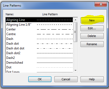 Revit – Creating a new Custom Line Pattern – Cadline Community