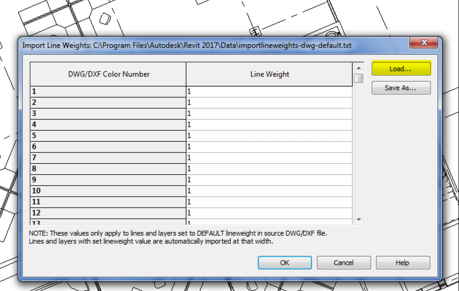 Revit – Using predefined layers from dwg/dxf file – Cadline
