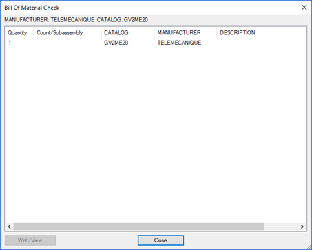 AutoCAD Electrical 2018 – Blank Component Descriptions in A Bill ...