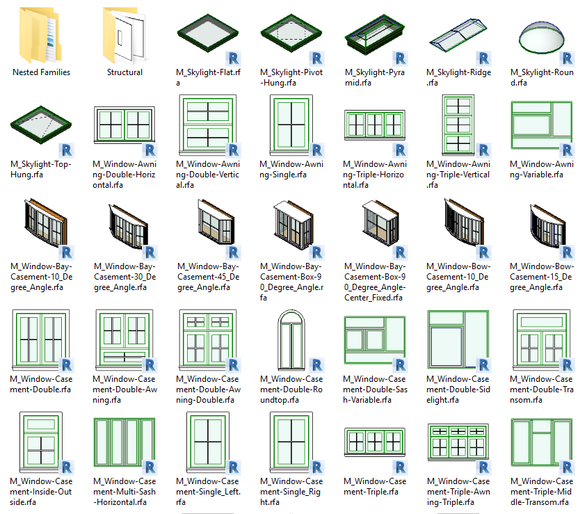 bibliotheque revit mep