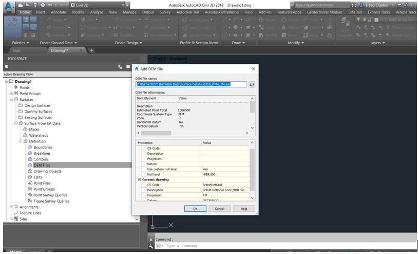 AutoCAD Civil 3D and Open Source Data – Cadline Community