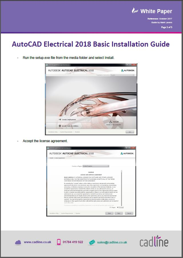 AutoCAD Electrical 2018 Basic Installation Guide – Cadline Community