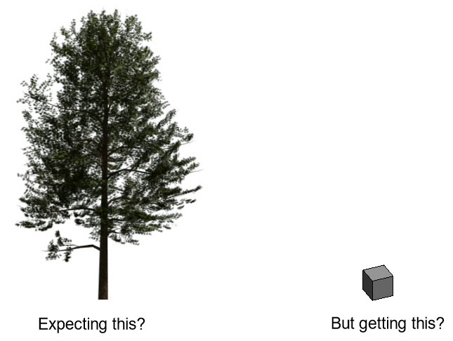 Trees rendering as grey boxes in 3ds Max and Revit 2018 – Cadline