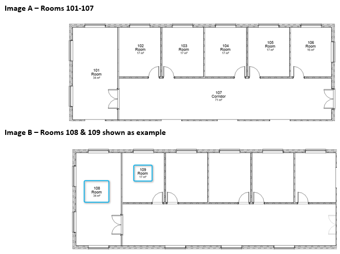 Revit copying room tags between floors to maintain correct room should you wish to number the upper floors from 201 2nd floor and 301 3rd floor as below see images below use the following process publicscrutiny Gallery