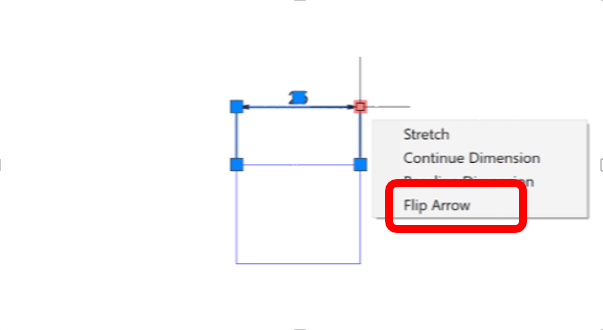 Autocad 2018- Forcing the Dimension Arrows Outside of the