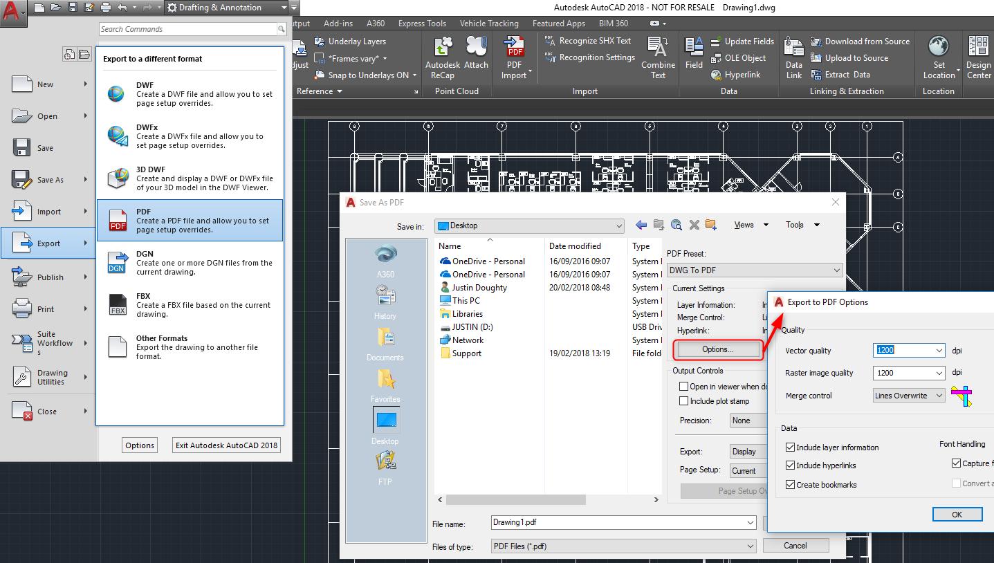 Conversão de DWFX para DWG. Como converter o arquivo DWFX ...