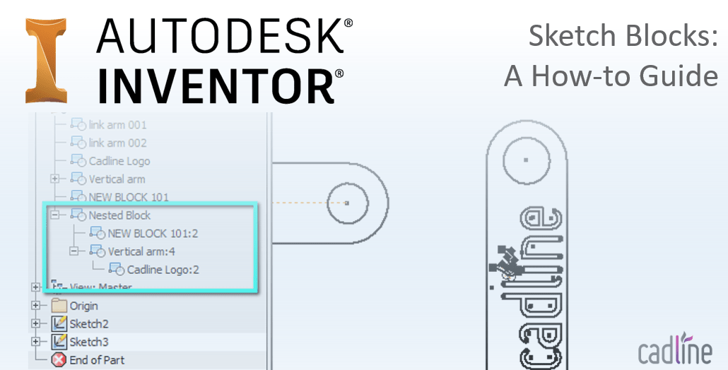Sketch Blocks in Inventor : A How-to Guide – Cadline Community