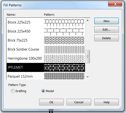 Adding A Custom Hatch Pattern To Revit 2019