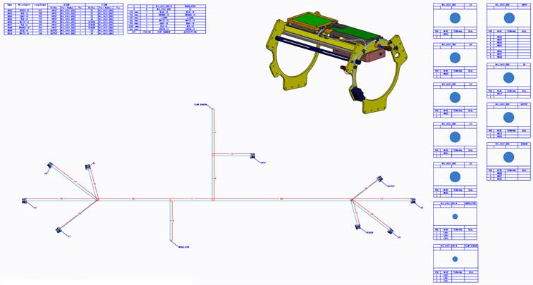 elecworks 2018 – Nailboard Drawings Within PTC Creo – Cadline Community | Nail Board Wire Harness |  | Cadline Community