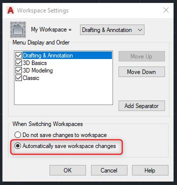 AutoCAD 2019: Restore the Classic Workspace – Cadline Community