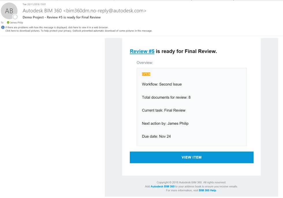 BIM 360 Docs Approval Workflow Feature – Cadline Community