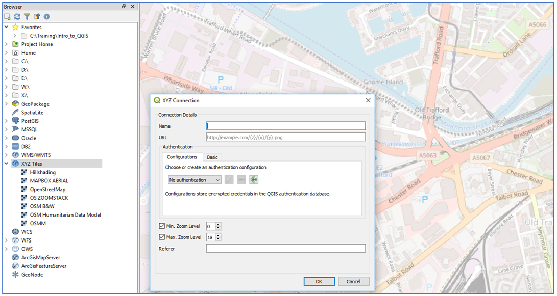 QGIS – Tile Map Services – Cadline Community