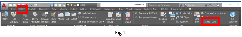 AutoCAD 2019 – Converting 2D Data to 3D - Part 2: Extracting 3D Data