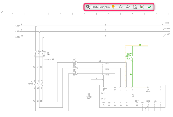 wiring diagram control dwgs autocad electrical 2020     dwg compare enhancements     cadline community  autocad electrical 2020     dwg compare