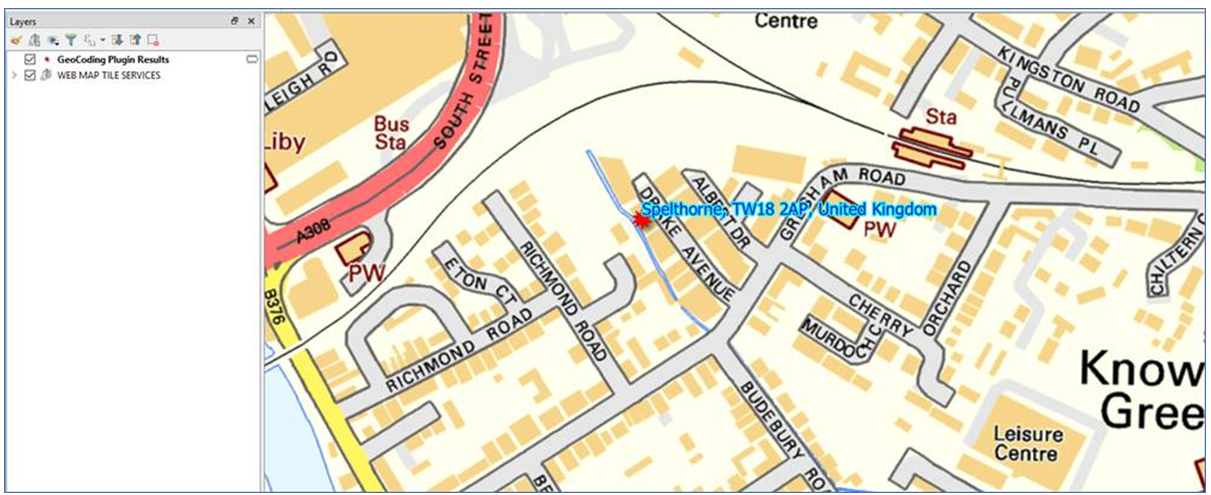 QGIS – Search Postcode – Cadline Community