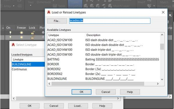 AutoCAD - Adding Bespoke Linetypes to drawings – Cadline