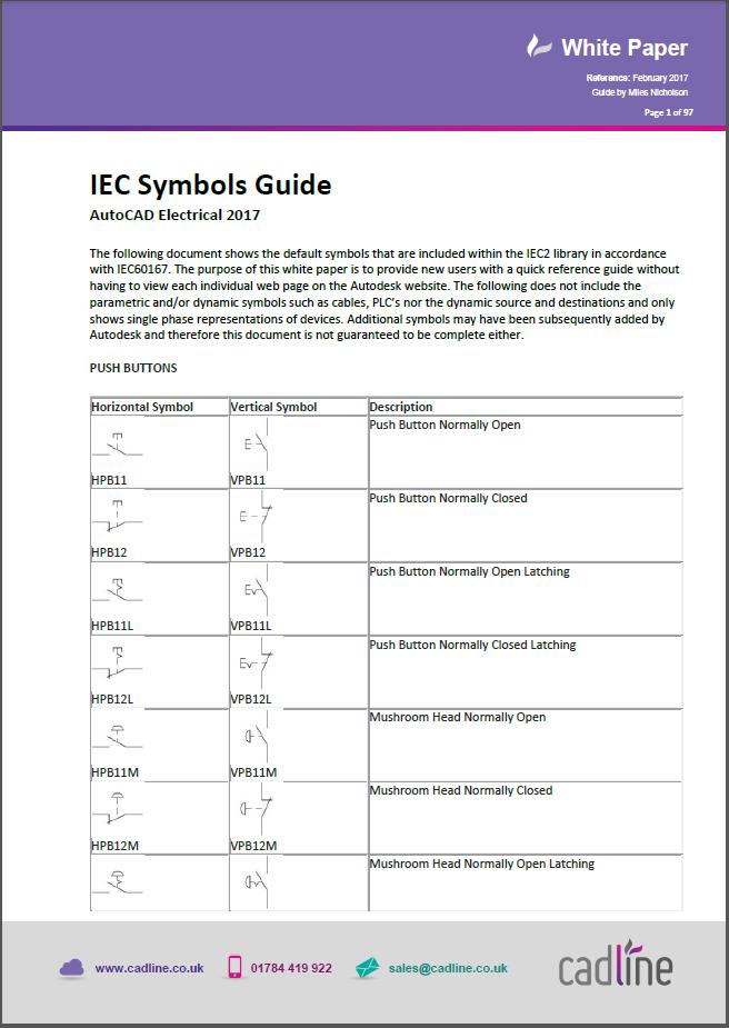 Autocad Electrical 2017 Iec Symbols Guide Cadline Community