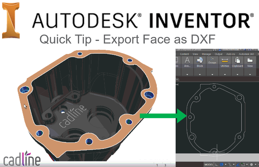 Inventor 2017 Quick Tip - Export Face as DXF – Cadline Community