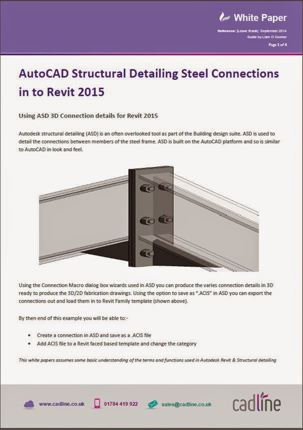 New AutoCAD Structural Detailing 2015 Software