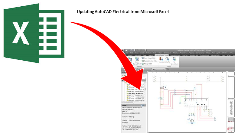 Updating AutoCAD Electrical From Microsoft Excel – Cadline Community