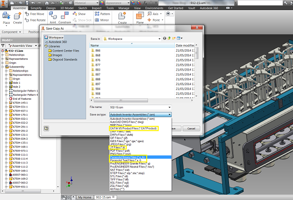 Autodesk Inventor 2015 Translators – Cadline Community
