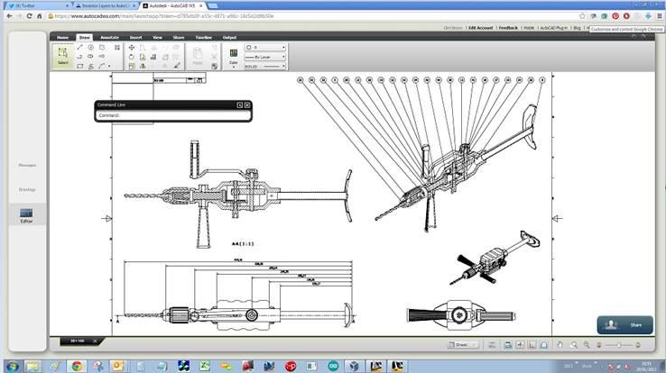 Inventor Drawings - DWG v IDW & AutoCAD – Cadline Community