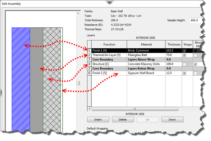 Revit 2013 - Wall Layer Functions – Cadline Community