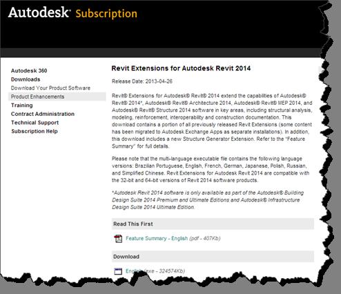 Revit Extensions for Revit 2014 – Cadline Community