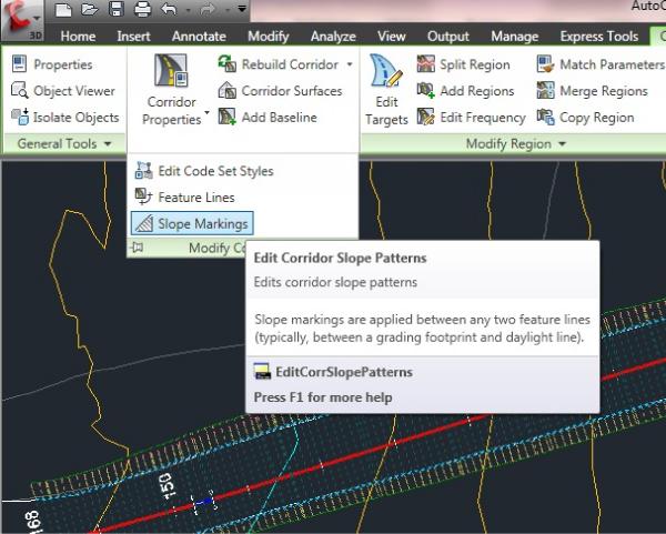 AutoCAD Civil 3D 2013 - Adding Slope Labels to a Corridor Design