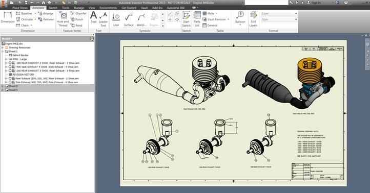 Inventor 2015 - IDW/DWG 2D and 3D AutoCAD Interoperability ...