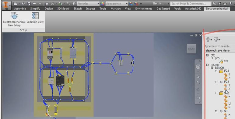 Inventor 2016 Interoperability With Autocad Electrical