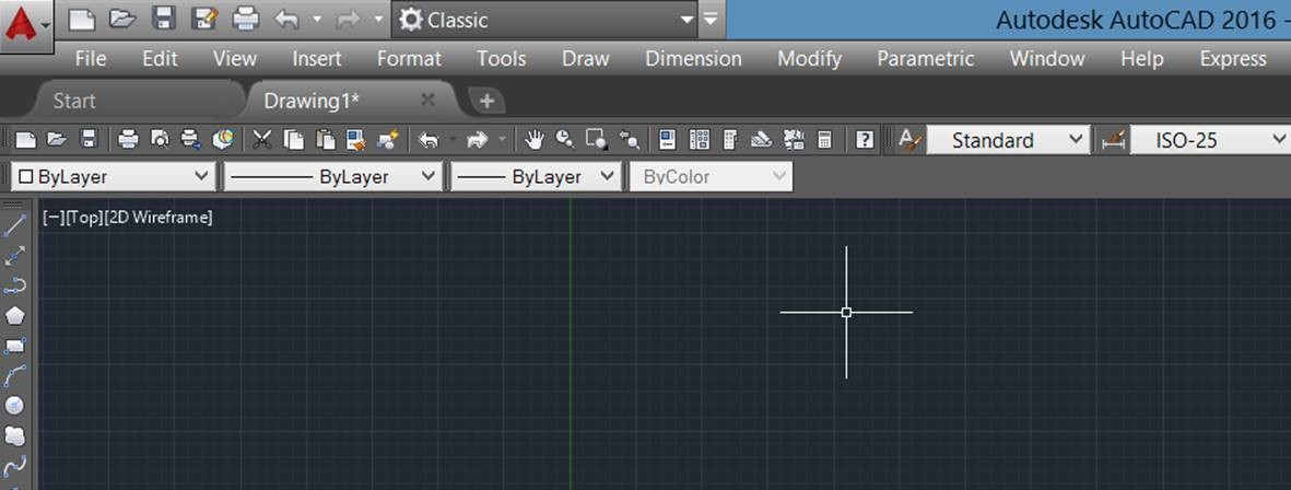 AutoCAD 2016: Restoring The Classic Workspace