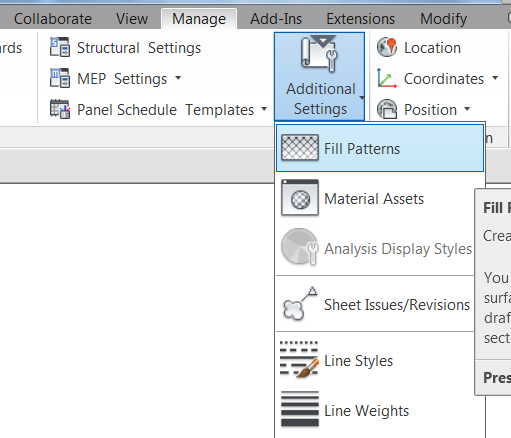 Adding A Custom Hatch Pattern To Revit 2015
