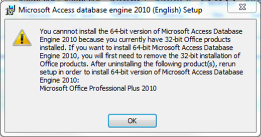 microsoft office 12.0 access database engine 64 bit