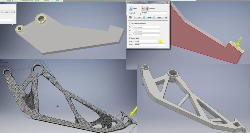 Generative Design coming to Inventor 2016 – Cadline Community