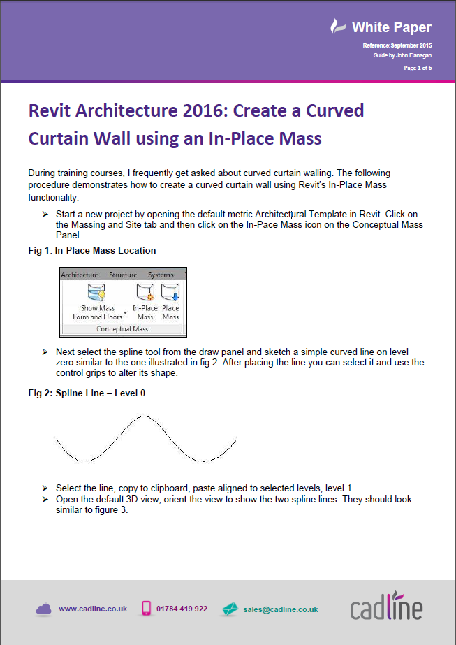 Revit architecture 2016 create a curved curtain wall for Curtain creator software