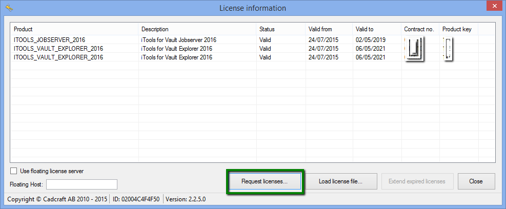 V_Tools licensing activation – Cadline Community