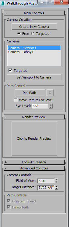 3ds max 2016 easy way to get a camera to follow a path or how to do