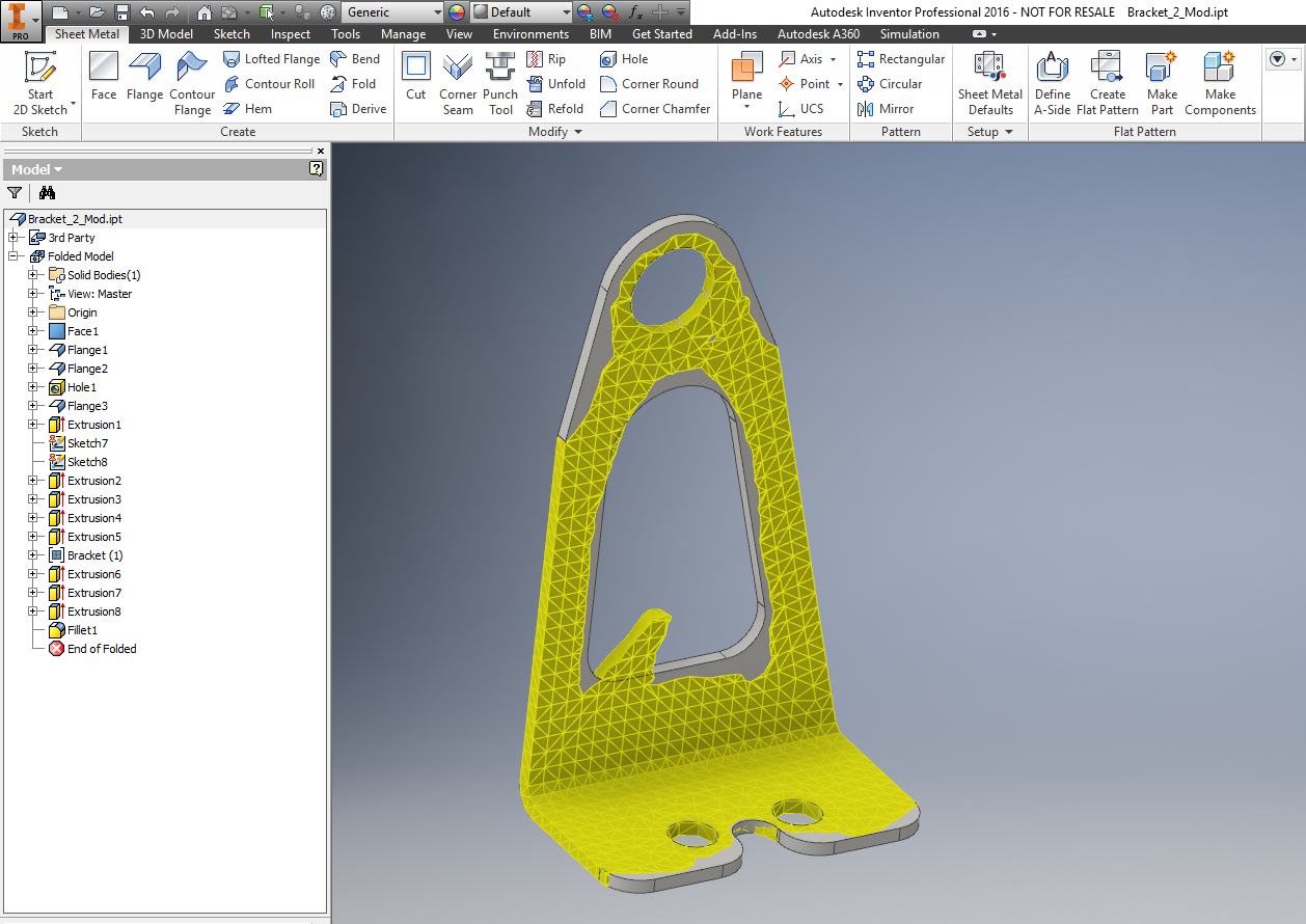 Autodesk Inventor 2016 R2 And R3 Intro To The Shape