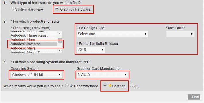 Autodesk Inventor 2016 - Optimising Graphics (NVIDIA) – Cadline