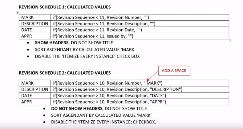 Revit 2016: Split Revision Table – Cadline Community