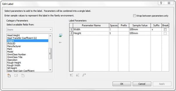 Step 4 Before loading the new door tag into the project you must save it to an appropriate location with a sensible name e.g. M_Door Tag_Dimensions.  sc 1 st  Cadline Community & Revit Architecture 2017 u2013 Door Tags with Dimensions u2013 Cadline Community