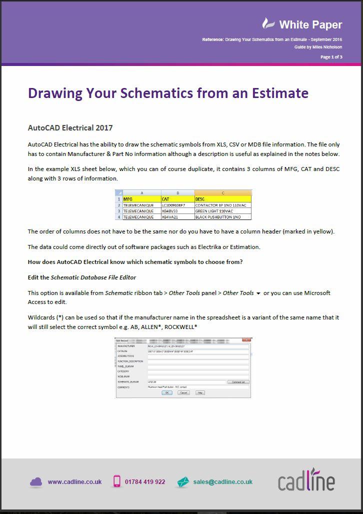 electrical estimate