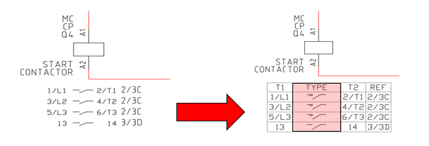 Autocad Electrical 2017 Creating A User Definable Cross Reference