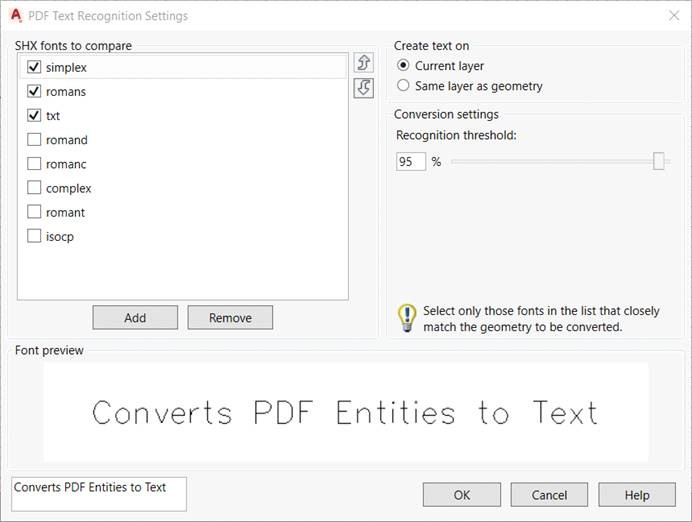 PDF to DWG conversion in AUTOCAD LT 2017 – Cadline Community