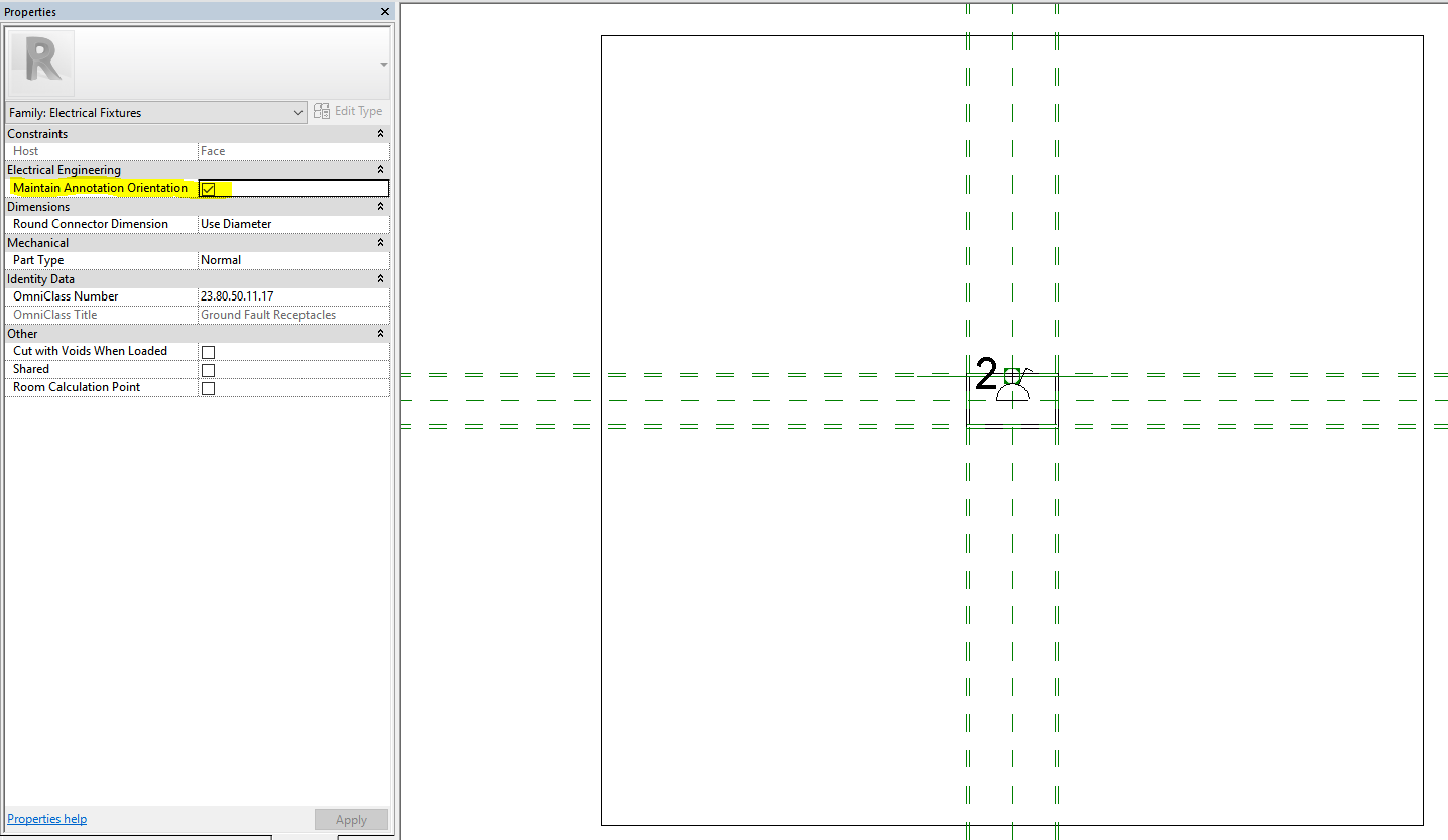 Revit 2017 display of nested symbols in families cadline community for face based families this means even if the family is hosted vertically on the wall the symbol will still show biocorpaavc